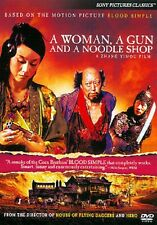 A Woman, a Gun and a Noodle Shop (DVD, 2011)