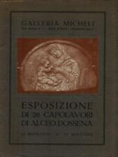 Ausstellungsstück Di 28 Prachtstück Di Alceo Dossena Aa.vv. Galerie Micheli 0000