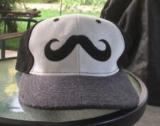 Moustache Hat Snap Back No Shave November