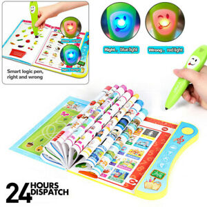 Interactive Book Learning Toys Educational Kids For 3+Year Old Toddler Children