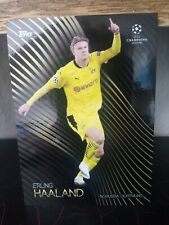 2020-21 TOPPS CHAMPIONS LEAGUE KNOCKOUT ERLING HAALAND BVB sleeve und Toploader