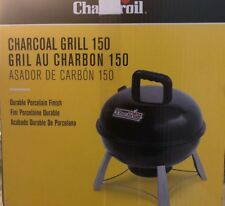 Portable Charcoal Grill Durable 150 in Porcelain Coated Steel Grate SEALED!!! 2