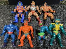 Lot of 7 He-Man Vintage Figures