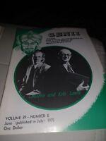 Martin & Eric Lewis Issue  1975 Vintage Genii Magazine