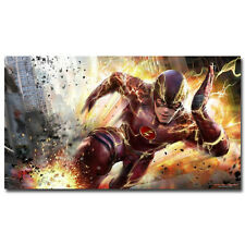 The Flash TV Series Art Silk Wall Poster 13x24inch