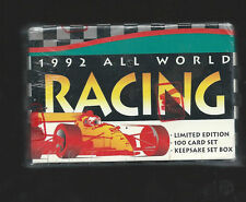 1992 ALL WORD RACING FACTORY SEALED 100 CARD SET  NM/MT