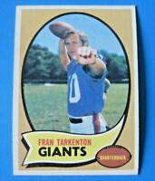 1970 TOPPS FRAN TARKENTON FOOTBALL CARD #80 ~ EX/MT