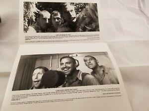 2 Press Photos O Brother Where Art Thou  Clooney John Turturro Tim Blake Nelson