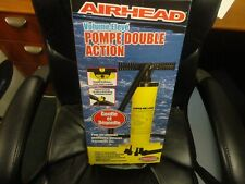 New listing New Airhead Hi Volume Double Action Air Pump Boats Inflatables Towables Airbeds