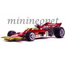 QUARTZO 18273 F1 LOTUS 72 JOCHEN RINDT #3 1970 SPANISH GP 1/18 DIECAST MODEL RED