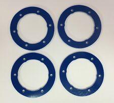 XTREME RACING PROLINE SPLIT SIX BEAD LOC BEADS BLUE G-10 2mm (4pc) SLASH SC10