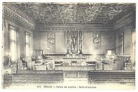 CPA 76 - ROUEN (Seine Maritime) - 617. Palais de Justice - Salle d'Assise - ELD