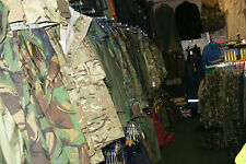 BUSINESS FOR SALE JOB LOT ARMY SURPLUS MILITARY WORKWEAR STOCK EQUIPMENT £200K