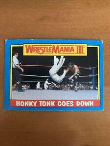 1987 Topps WWF Wrestling Card #52 Honky Tonk Man