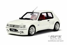 PEUGEOT 205 DIMMA Tuning-année de fabrication 1988-Blanc - 1:18 OTTOMOBILE 681