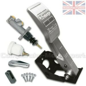 Premier Montura Suelo Pedal de Embrague Caja + Kit Un Aluminio CMB6751-ALI-KIT