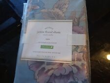 Pottery Barn Jamie Floral Euro  sham  New with tag