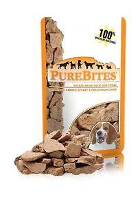 PureBites® Freeze Dried Duck Dog Treat 2.6 oz / 74g