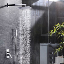 SR SUN RISE SRSH-F5043 Bathroom Luxury Rain Mixer Shower Combo Set Wall Mounted