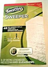 Swiffer Dry Sweeping Sweeper Cloths Refills 48 Ct. SweeperVac Cleaning Household