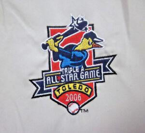 TOLEDO MUD HENS med pullover jacket All-Star Game baseball 2006 Minor League AAA