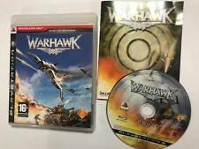 ITALIAN DUTCH FRENCH GERMAN LANGUAGE PLAYSTATION 3 PS3 GAME WARHAWK COMPLETE PAL