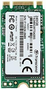 Transcend 420s 240GB M.2 2242 SSD SATA III TLC