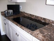 Instant Counter Top Granite LOOK Contact Paper Film Overlay roll 6Ft Dark Brown