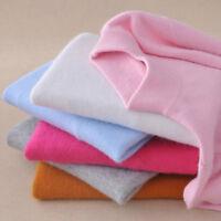 Women's Slim Soft Sweater Knitted Half-Turtleneck Cashmere wool Jumper Pullover