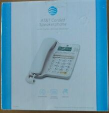 AT&T CL2909 Corded Phone w/Speakerphone & Caller ID/Call Waiting White *NEW