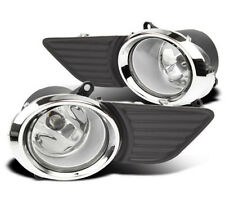 11-15 Toyota Sienna Black Bezel Chrome Fog Light Kit FL7115