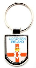 Irish Keyring - Shield Red Hand Northern Ireland - Souvenirs - IRL Gifts - New