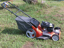 HUSQVARNA WALK-BEHIND SELF PROPEL HIGH WHEEL LAWN MOWER HONDA POWERED 3 IN I