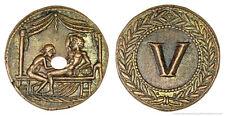 Roman Spintria Brothel Entry Token V Bronze