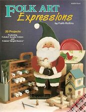 Faith Rollins : FOLK ART EXPRESSIONS Painting Book