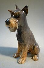 Riesenschnauzer Porzellan Figur Tier Hund Terrier Goebel naturgetreu & perfekt