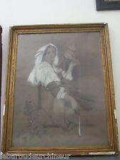 peinture femme orientale 1883. Signée
