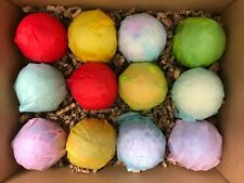 Bath Bombs set of 12 x 4oz - High Quality - Handmade By Lather Up