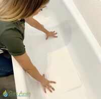 Non Slip Bath Mat - Ultra Thin & Extremely Discreet - Medium, large, Extra large