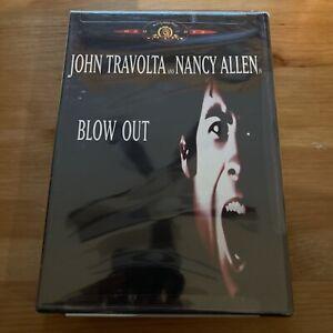 Blow Out (DVD, 2001) RARE OOP 1981 JOHN TRAVOLTA THRILLER - NEW SEALED