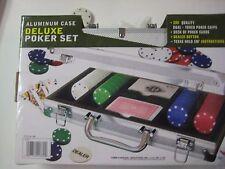 200 pc Poker Set In Aluminum Case 41389