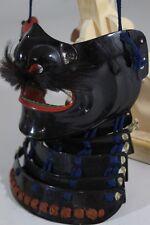 """MENPO (mask) of YOROI (armor) : EDO : 7.9 × 6.7 × 4.7 """"  420g"""