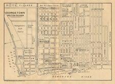 More details for georgetown. vintage town map. british guiana (guyana) /guyana. caribbean 1935