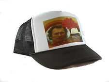 Vintage Any which way you can movie hat Trucker Hat Clint Eastwood hat brown