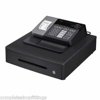 NEW CASIO ELECTRONIC SE-S10 CASH REGISTER SHOP TILL THERMAL PRINTER 20 FREE ROLL