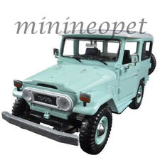 MOTORMAX 79323 TOYOTA FJ40 FJ 40 LAND CRUISER 1/24 LIGHT GREEN with WHITE TOP