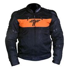 Tarmac One II Protective Riding Jacket Orange/Black M size