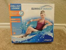 New in box Polygroup Summer Waves chill-out pool lounge