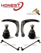 For PEUGEOT 307 01-09 FRONT LOWER WISHBONE ARMS, BALLJOINTS & 2 STABILSER LINKS