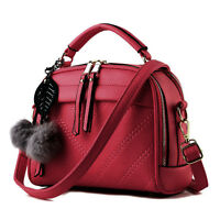 New Women Fashion Handbag PU Leather Shoulder Bag Ladies Satchel Tote Purse Bag